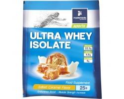 My Elements Sports Ultra Whey Isolate Salted Caramel Flavor Πρωτεΐνη 100% Ορού Γάλακτος σε Μονοδόση 25gr