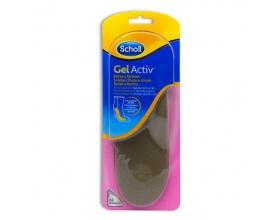 Scholl Gel Activ Insoles Boots Γυναικείοι πάτοι για Μπότες & Μποτάκια, 1 ζευγάρι