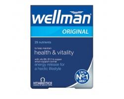 Vitabiotics Wellman Original  Πολυβιταμίνη Ειδικά Σχεδιασμένη για Άνδρες, 30tabs