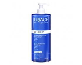 URIAGE DS Hair Soft Balancing Shampoo Απαλό εξορροπιστικό σαμπουάν καθημερινής χρήσης 500ml