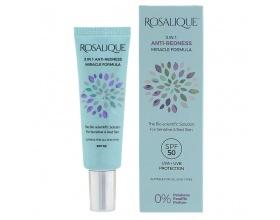 Rosalique 3 in 1 Anti-Redness Miracle Formula spf 50+, Κρέμα Κάλυψης για Ευαίσθητα & με Ερυθρότητα Δέρματα, 30ml