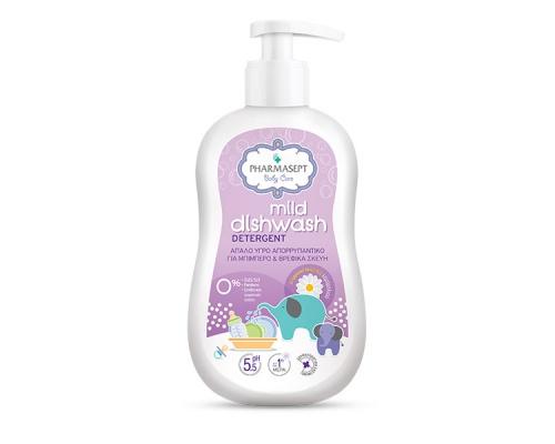 Tol Velvet Pharmasept Baby Mild Dishwash, Απαλό Υγρό Απορρυπαντικό για Μπιμπερό & Βρεφικά Σκεύη, 400ml