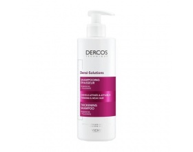 Vichy Dercos Densi-Solutions Thickening Shampoo Σαμπουάν πύκνωσης για αδύναμα, λεπτά μαλλιά 400ml