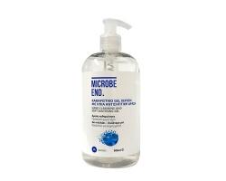 Medisei Microbe End Αντισηπτικό Gel Χεριών, 500ml
