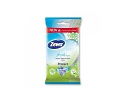 Zewa Fresh To Go Protect Υγρομάντηλα για Χέρια και Πρόσωπο, 10τμχ