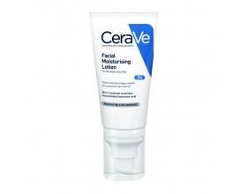 CeraVe Facial Moisturizing Lotion Ενυδατική Κρέμα Προσώπου για Κανονικές-Ξηρές Επιδερμίδες Με 3 απαραίτητα ceramides, νιασιναμίδη & υαλουρονικό οξύ, 52ml