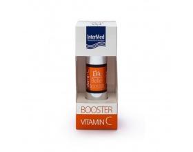 Intermed Eva Belle Booster Vitamin C προάγει τη σύνθεση του κολλαγόνου - λειαίνει τις ρυτίδες 15ml