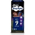 Libero Sleep Tight, Πάνα Βρακάκι Νο9 22-37Kg, 10 πάνες