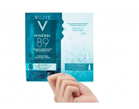 Vichy Mineral 89 Fortifying Instant Recovery Mask Μάσκα Ενδυνάμωσης και Επανόρθωσης, 29gr