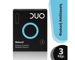 DUO Natural, Προφυλακτικά κανονικό, 3 τμχ