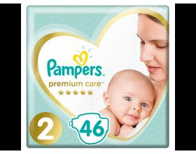 Pampers Premium Care Πάνες Μέγεθος 2, 4-8kg, 46 Πάνες.