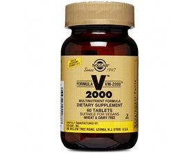 SOLGAR FORMULA VM 2000 Υψηλής ισχύος με αμινοξέα,πεπτικά ένζυμα, σούπερ τροφές,βιοφλαβονοειδή 60 ταμπλέτες