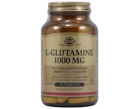 Solgar L-GLUTAMINE 1000mg, παίζει πρωταρχικό ρόλο στην ομαλή λειτουργία του ανοσοποιητικού συστήματος 60 tabs