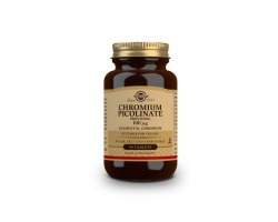 Solgar CHROMIUM PICOLINATE 100μg Συμπλήρωμα διατροφής χρήσιμο για τον έλεγχο του σακχάρου στο αίμα & για τον μεταβολισμό του λίπους 90 ταμπλέτες