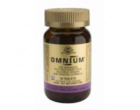 Solgar Omnium Multivitamin Συμπλήρωμα διατροφής για κάλυψη υψηλών αναγκών 60tabs