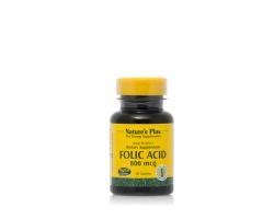 Nature's Plus, Folic Acid 800 mcg, φυλλικό οξύ, 90 tabs