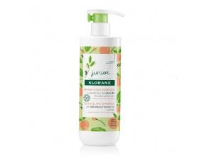 Klorane Shampoo  Παιδικό Σαμπουάν για Ξέμπλεγμα με Άρωμα Ροδάκινο από 3 ετών 500ml