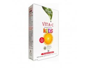 Power Health Vitamin-C Kids, Ειδικά μελετημένα για τον παιδικό οργανισμό προλαμβάνουν και αντιμετωπίζουν ιώσεις και κρυολογήματα, ενισχύουν τις αντοχές του & το φροντίζουν σε έκτακτες ανάγκες 30 Μασώμενα Δισκία