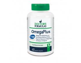 Doctor's Formulas Omega Plus, Φόρμουλα Ιχθυελαίων 60 Κάψουλες