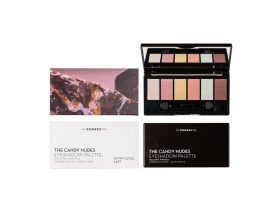 KORRES The Candy Nudes Eyeshadow Palette Volcanic Minerals 6g