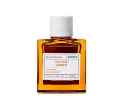 Korres Oceanic Amber Eau De Toilette, Φρέσκο άρωμα θαλασσινού νερού, παράλληλα με μία γλυκιά και ζεστή μυρωδιά ρητίνης 50ml