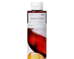 Korres Shower Gel Oceanic Amber Αφρόλουτρο Φρέσκο άρωμα θαλασσινού νερού, παράλληλα με μία γλυκιά και ζεστή μυρωδιά ρητίνης 250ml
