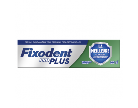 Fixodent Pro Plus Antibacterial , Στερεωτική Κρέμα για Τεχνητή Οδοντοστοιχία, 40gr