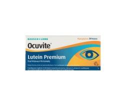 BAUSCH & LOMB Ocuvite Lutein Premium Συμπλήρωμα Διατροφής Για Την Υγεία Των Ματιών 30 δισκία