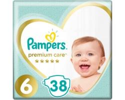 Pampers Premium Care, Νo 6 13+kg 38 πάνες.
