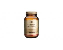 Solgar Vitamin C Crystals,Βιταμίνη C σε μορφή σκόνης, Ενισχύει την υγεία του οργανισμού 125g