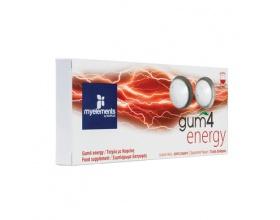 My Elements Gum 4 Energy Συμπλήρωμα Διατροφής σε μορφή τσίχλας, 10τμχ