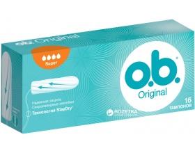 OB Original Super Ταμπόν Υψηλής Ροής, 16τμχ
