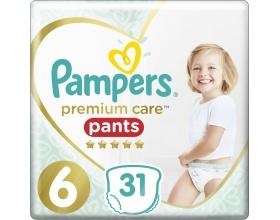 Pampers Premium Care Pants, Νo 6 15+kg 31 Πάνες