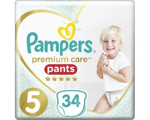 Pampers Premium Care Pants, Νo 5 12-17kg 34 Πάνες.