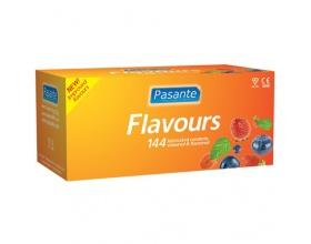 Pasante Flavours Προφυλακτικά σε Διάφορες Γευσείς, 144τμχ