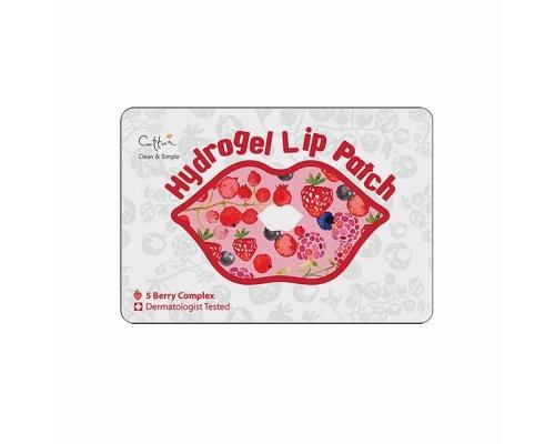 Vican Cettua Clean & Simple Hydrogel Lip patch Επίθεμα Ενυδάτωσης Χειλιών,εμποτισμένο με υαλουρονικό νάτριο και με ισχυρό μείγμα 5 μούρων 1τμχ