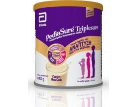Abbott Pediasure Triplesure Συμπλήρωμα Διατροφής σε μορφή Γάλακτος για παιδιά 1-10 ετών με Γεύση Βανίλια, 400gr
