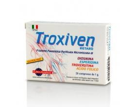 ΒΙΟΝΑΤ Troxiven Retard Συμπλήρωμα Διατροφής για την υγεία των αγγείων, κατάλληλο για αιμορροΐδες, κιρσούς, φλεβίτιδα και ευρυαγγείες 20 δισκία