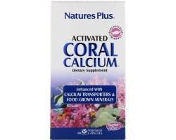Nature's Plus, Activated Coral Calcium 1000 mg,Φόρμουλα με Εξαιρετικό Απορροφήσιμο Ασβέστιο  90 vcaps
