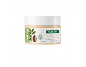 Klorane Nourishing & Repairing Mask with Organic Cupuacu Butter Μάσκα Θρέψης για Πολύ Ξηρά Μαλλιά 150ml