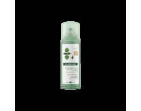 Klorane Ortie Dry Shampoo Ξηρό σαμπουάν με Τσουκνίδα για Λιπαρά Μαλλιά Καστανά/Μαύρα 50ml