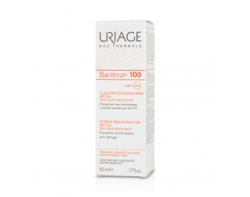 Uriage Bariesun 100 Extreme Protective Fluid SPF50+, Αντιηλιακή Λεπτόρευστη Κρέμα 50ml