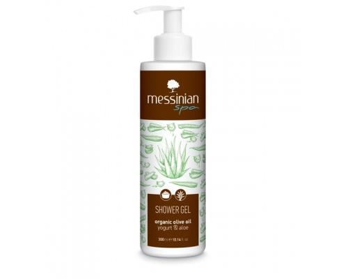 Messinian Spa Shower Gel Yogurt Aloe Αφρόλουτρο με Γιαούρτι και Αλόη 300ml