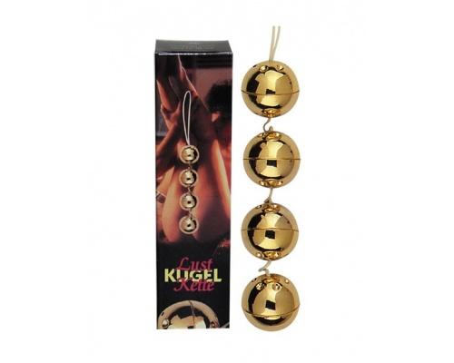 You2Toys Golden BeadsΤέσσερις υπέροχες μπάλες απόλαυσης που είναι επικαλυμμένες με χρυσό 24 καρατίων 1 τεμάχιο
