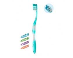 ELGYDIUM Anti-plaque Medium Οδοντόβουρτσα για μεγαλύτερη απομάκρυνση της πλάκας, Ιδανική για καθημερινή χρήση, 1 τεμάχιο