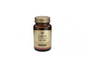 Solgar Coenzyme Q-10 100mg, Συνένζυμο Q-10 με αντιοξειδωτικές ιδιότητες 30 softgels