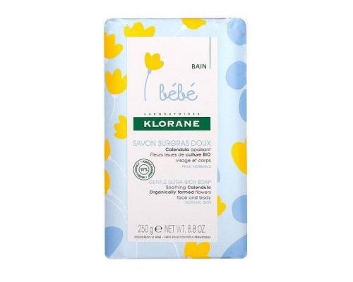 Klorane Bebe Savon Surgras Doux Ήπιο Σαπούνι για Βρέφη & παιδιά , για πρόσωπο & σώμα 250g