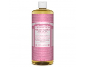 DR.BRONNER'S 18-IN-1 CHERRY BLOSSOM Pure Castile Soap Αγνό Υγρό Σαπούνι με υπέροχο άρωμα κεράσι 946ml