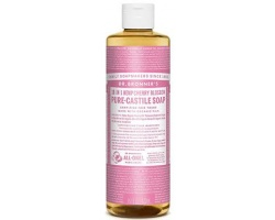 DR.BRONNER'S 18-IN-1 CHERRY BLOSSOM Pure Castile Soap Αγνό Υγρό Σαπούνι με υπέροχο άρωμα κεράσι 473ml