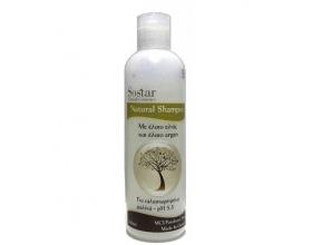 Sostar Natural Shampoo Με Έλαιο Ελιάς και Argan 250ml